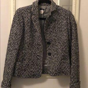Jcrew cropped coat